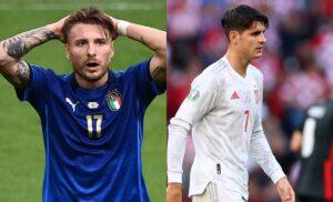 Immobile Morata 300x182 - Italia Spagna, Immobile vs Morata: i due bomber accomunati dalle critiche