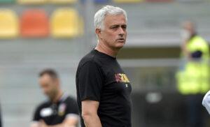 José Mourinho 1 300x182 - Mourinho: «Domani il pubblico ci aiuterà. Florenzi? Gli auguro il meglio, ma…»