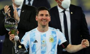 Lionel Messi 300x182 - Messi: «Futuro? Sono disconnesso da tutto e mi godo la Copa America»