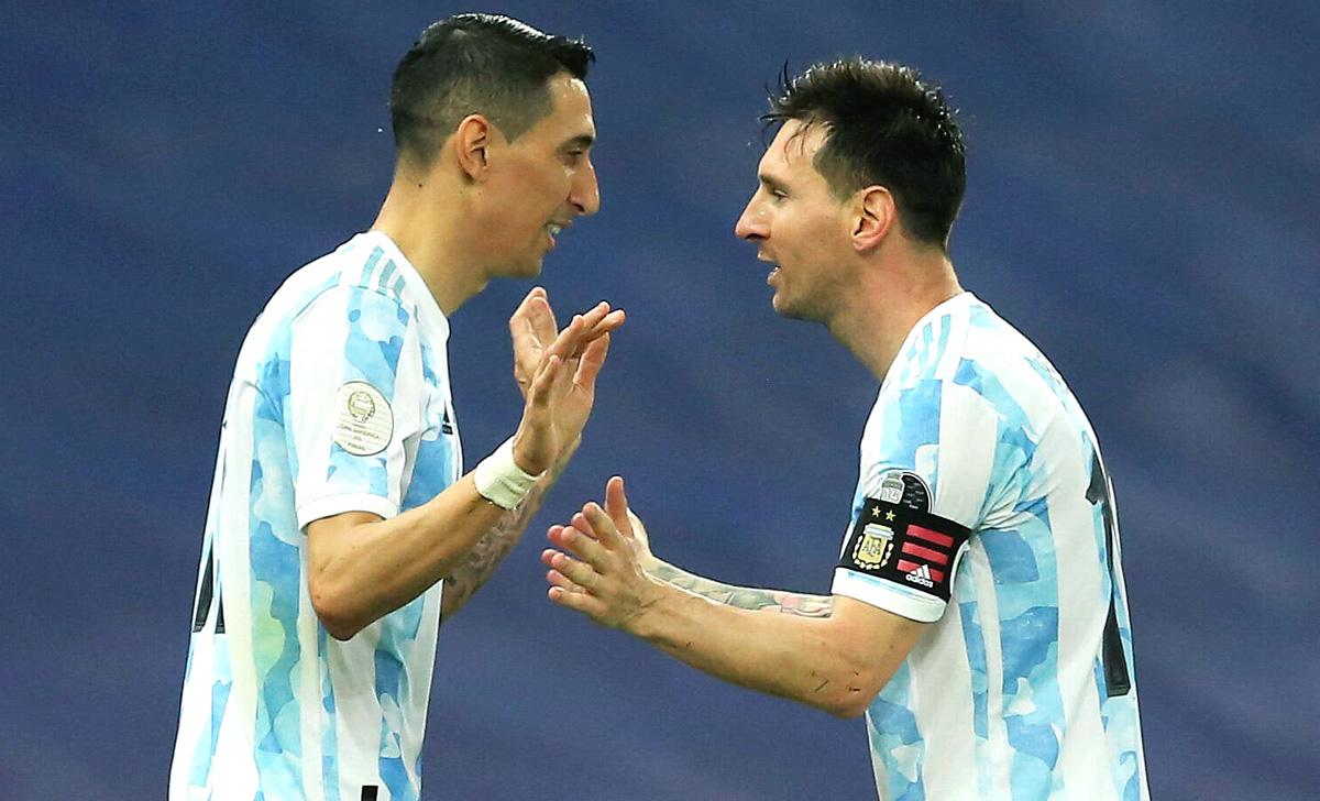 Messi Di Maria Argentina