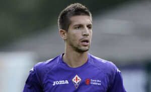 Nastasic GC45681 300x182 - Nastasic:«Contento di essere tornato alla Fiorentina. Testa al Napoli»