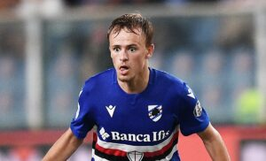 Damsgaard PAP0716 1 300x182 - Sampdoria, Damsgaard acciaccato: le condizioni dopo l'infortunio