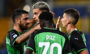 Convocati Sassuolo per la sfida all'Atalanta: assenti Obiang e Romagna