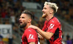 saelemaekers Giroud Milan Cagliari 20210829 0158 300x182 - Il Milan raccoglie la sfida dell'Inter: ma Napoli, Roma e Lazio sono più di semplici outsider