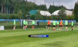 Allenamento Inter 300x182 - Inter, buone notizie dall'allenamento: Vidal e Correa lavorano in gruppo – VIDEO
