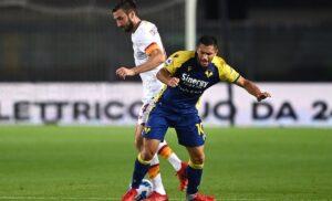 Verona, Caprari: «Roma? Ci godiamo il momento. Contento per il gol»