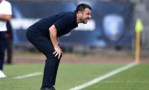 DAversa 2 300x182 - Sampdoria, D'Aversa: «Giocare non basta. Oggi concesso troppo alla Juve»