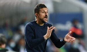 Sassuolo, Dionisi: «Credevamo di aver vinto, abbiamo sbagliato»