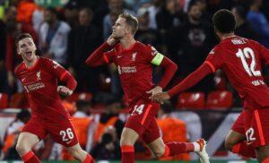 Henderson liverpool esultanza 300x182 - Premier League pazza di Pape Cisse: non c'è solo il Liverpool sul difensore