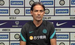 Inter, Inzaghi in conferenza stampa: «Avremmo meritato la vittoria»