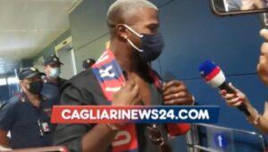 Keita Balde Cagliari 300x171 - Cagliari, Keita è atterrato in Sardegna: le prime immagini – VIDEO