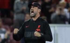Liverpool, Klopp entusiasta: «Salah incredibile, nessuno meglio di lui»
