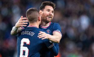 Messi Verratti 300x182 - Ultime Notizie Serie A: da Tuchel a Messi parlano i big, Rabiot positivo