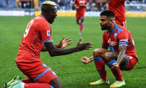 Napoli, Insigne: «Squadra vera. Ora testa alla prossima partita» – FOTO