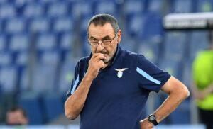 Sarri AS1 1090 1 300x182 - Lazio, Sarri: «Potevamo fare più gol. Mourinho? Lo stimo ma non rispondo»