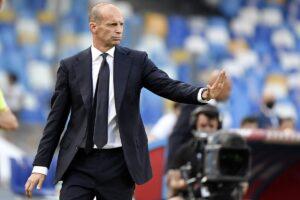 Juventus, Allegri: «Ho sbagliato i cambi. Scudetto? Possiamo recuperare»