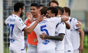Sampdoria   Spezia 2   1: un super Candreva trascina i blucerchiati
