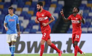 esult gol Promes CPur039 1 300x182 - Pagelle Napoli Spartak Mosca 2-3: Promes anima dei russi, che sciocchezza Mario Rui VOTI