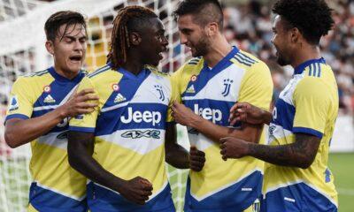 Juventus esultanza