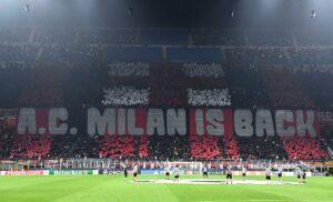 tifosi Milan MG8 0029 1 300x182 - Milan Atletico Madrid 1-0 LIVE: seconda ammonizione per Kessié