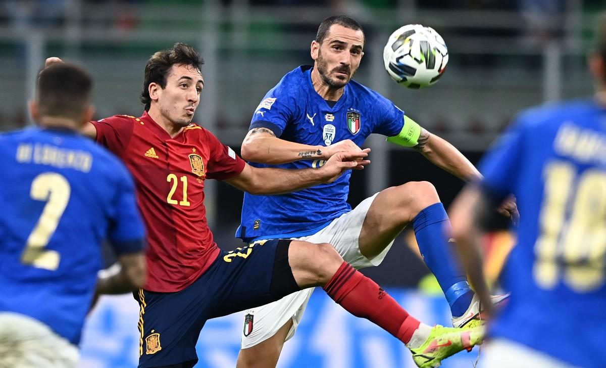 nations league italia-spagna
