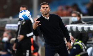 Spezia, Thiago Motta: «Commessi errori evitabili, poco cattivi in avanti»