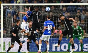 Sampdoria Spezia 2 1: la decide Candreva, gol finale di Verde