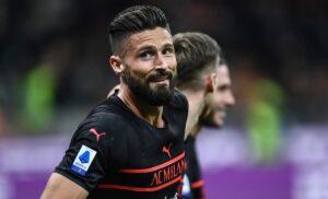 Milan, Giroud: «Tre punti importanti contro una squadra forte»