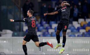 Napoli Bologna 3 0: Insigne riaggancia il Milan, gli azzurri tornano al comando