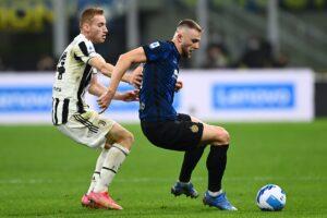 Inter, De Vrij: «Il rigore? Non mi sembrava ci fosse»